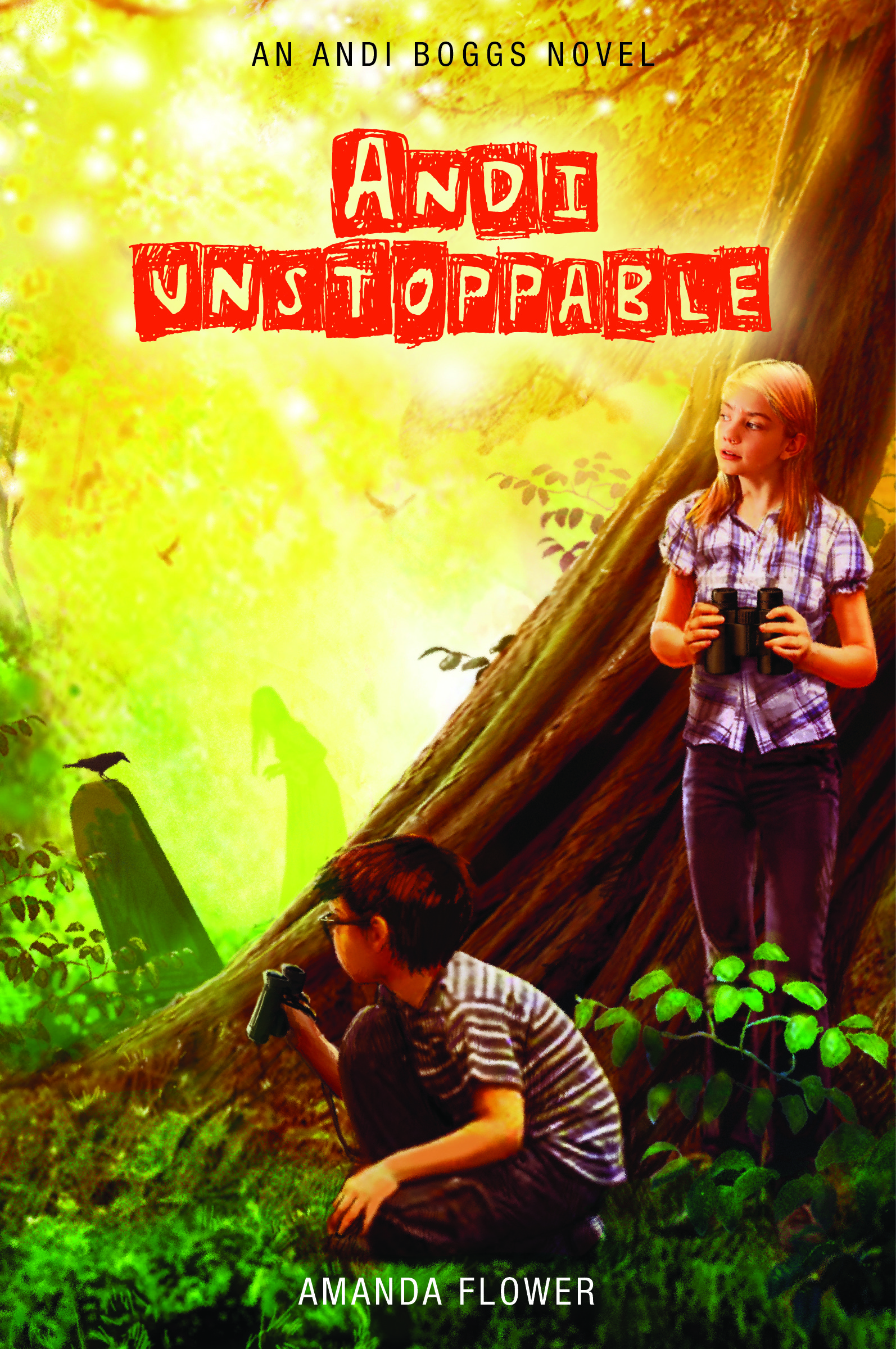 Andi Unstoppable by Amanda Flower-  Child's Book Review