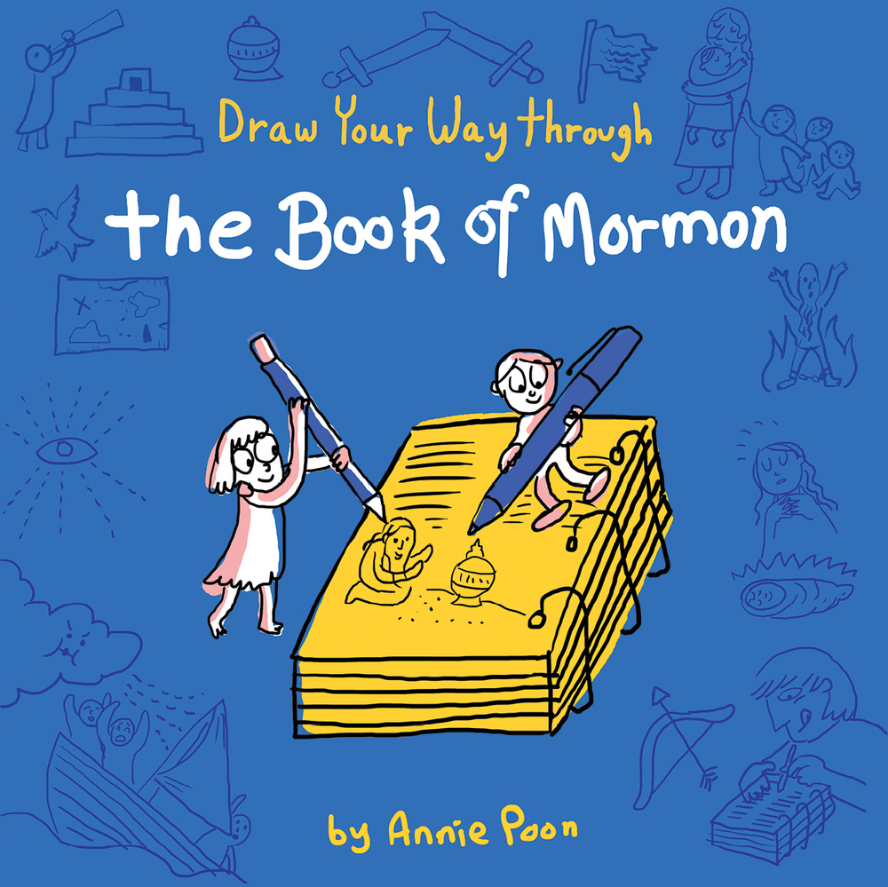 Draw Your Way Through the Book of Mormon Blog Tour