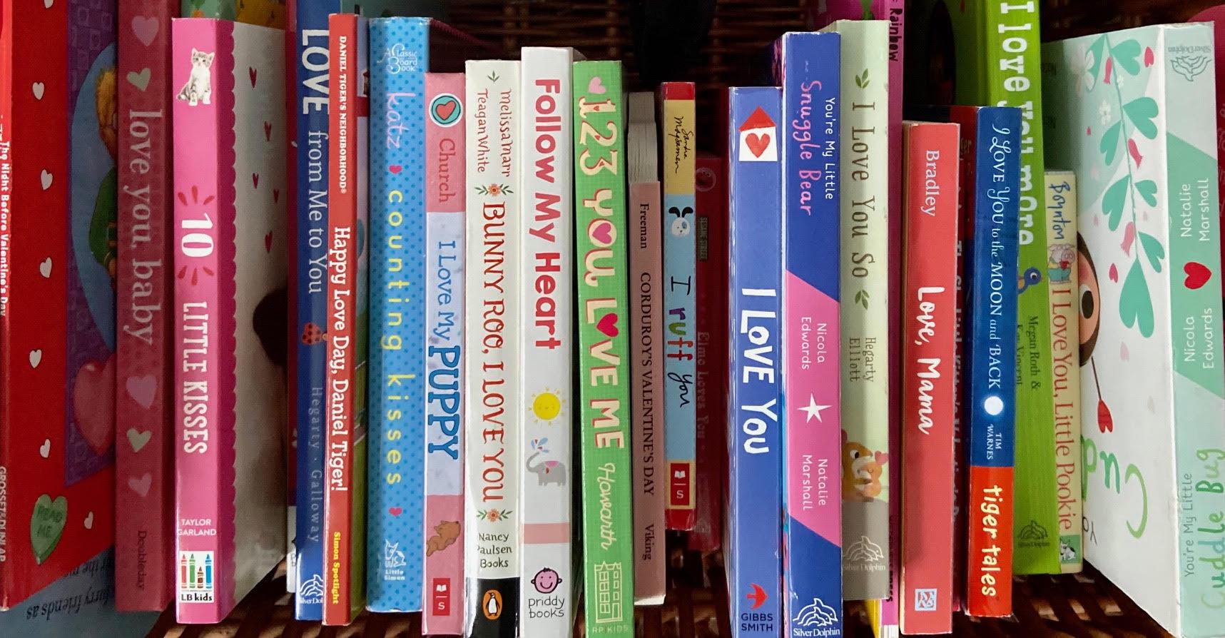 Board Books About Love
